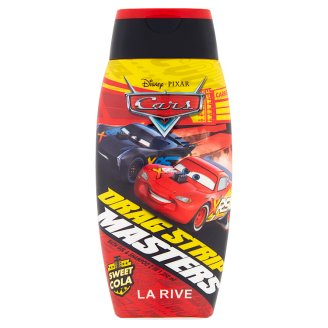 LA RIVE Lightning Mcqueen 2 in 1 Bath Gel and Shampoo for Children over 3 Years of Age 250 ml