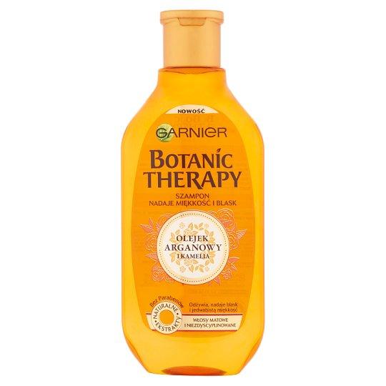 Garnier Botanic Therapy Szampon do włosów matowych Olejek arganowy i kamelia 400 ml
