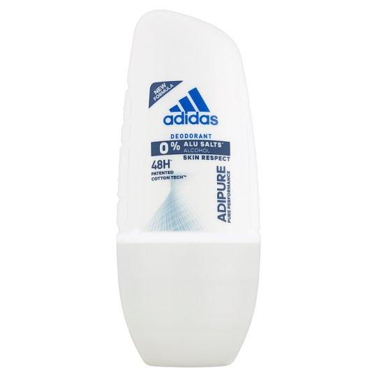 Adidas Adipure Deodorant Roll On for Woman 50 ml