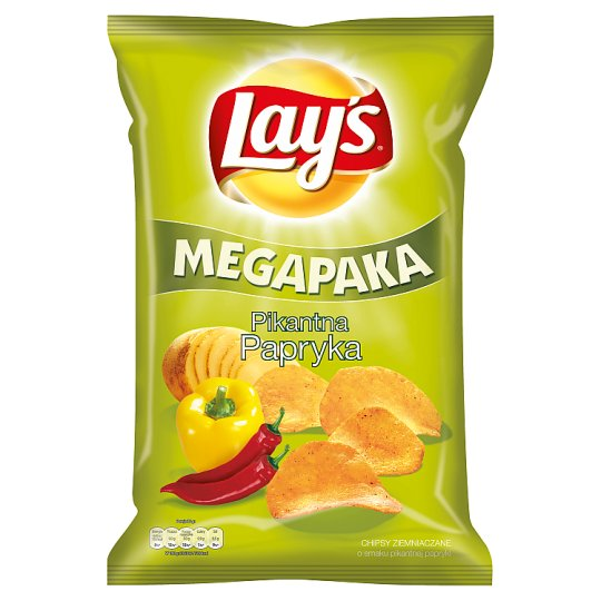 Lay's Spicy Paprika Flavoured Potato Crisps 225 g