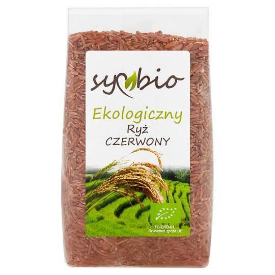 Symbio Ryż czerwony ekologiczny 500 g