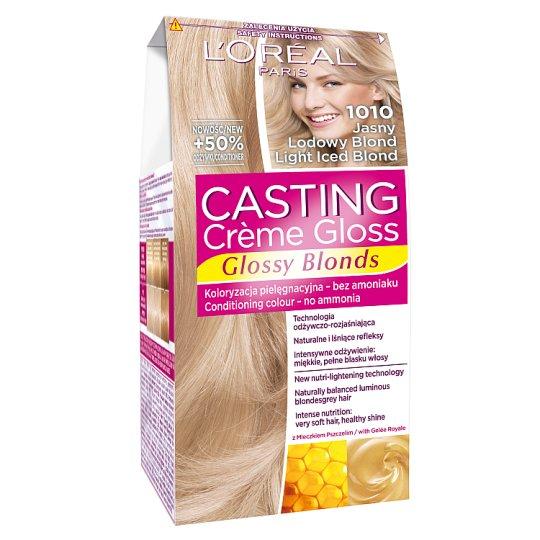 L'Oreal Paris Casting Creme Gloss Farba do włosów 1010 jasny lodowy blond