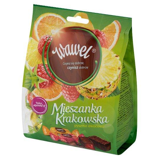 Wawel Mieszanka Krakowska Chocolate Coated Jelly Sweets 280 g