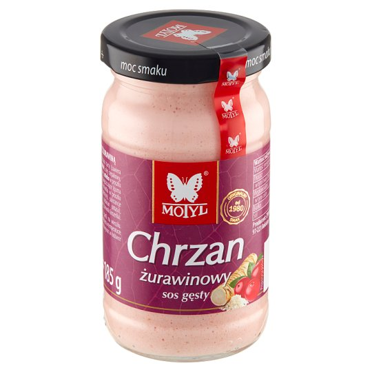 Motyl Cranberry Horseradish 185 g