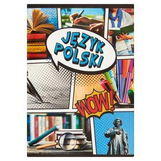 Polish A5 Lines 60 Pages Notebook