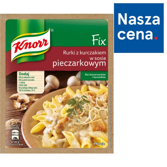 Knorr Fix Pasta with Chicken in Mushroom Sauce 33 g