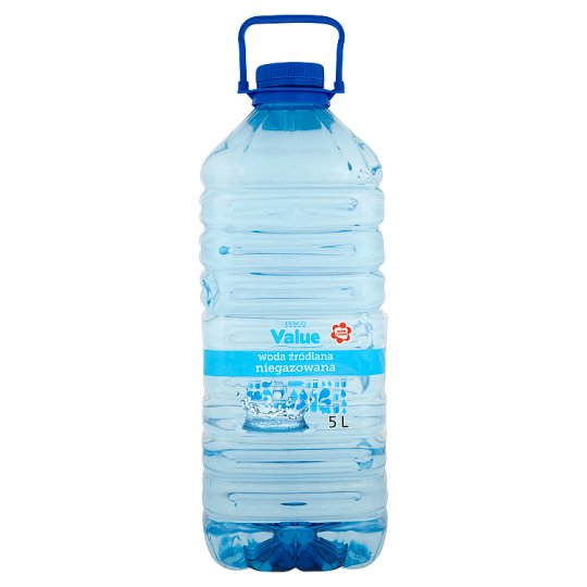 Tesco Value Still Spring Water 5 L