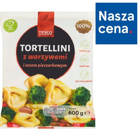 Tesco Tortellini with Vegetables and Mushroom Sauce 600 g