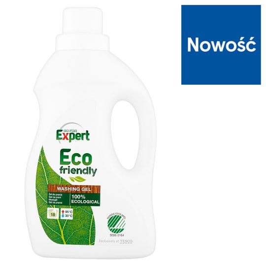 Go for Expert Eco Friendly Washing Gel 1 L (18 Washes)