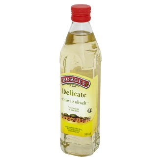 Borges Delicate Olive Oil 500 ml
