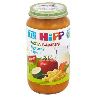 HiPP BIO Pasta Bambini Rigatoni Napoli po 11. miesiącu 250 g