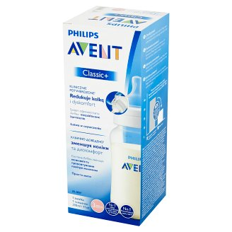 Avent Classic+ Feeding Bottle after 3 month 330 ml