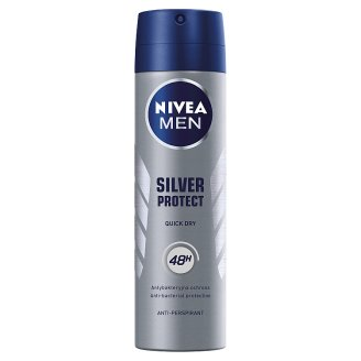 NIVEA MEN Silver Protect Dynamic Power 48 h Antyperspirant w aerozolu 150 ml