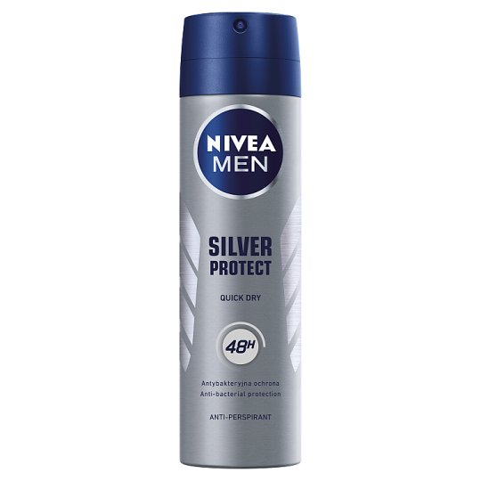 NIVEA MEN Silver Protect Antyperspirant w aerozolu 150 ml