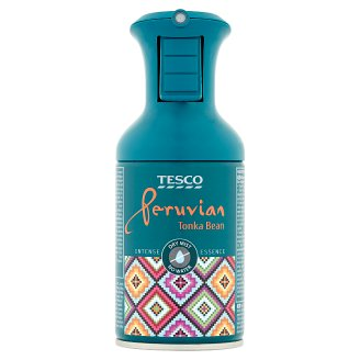 Tesco Peruvian Tonka Bean Dry Mist Air Freshener Spray 250 ml