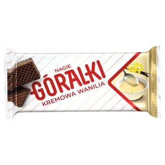 Góralki Vanilla Flavour Dark Wafer with Milk Cream Filling 42 g