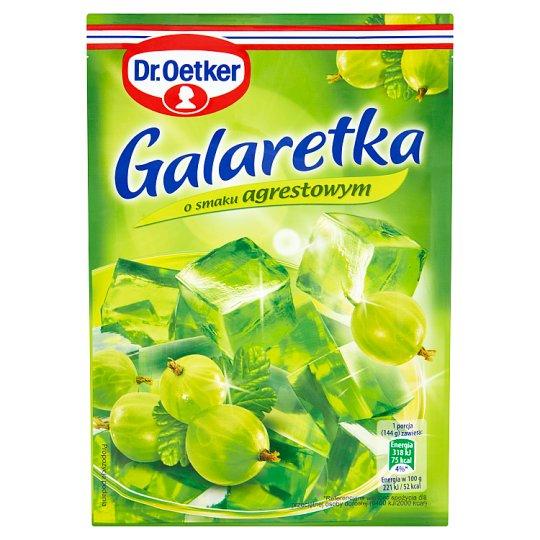 Dr. Oetker Gooseberry Flavoured Jelly 77 g