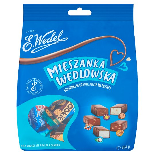 E. Wedel Mieszanka Wedlowska Milk Chocolate Covered Candies 356 g