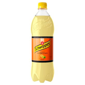 Schweppes Citrus Mix Sparkling Drink 0.9 L