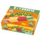 Kaktus Lemon Flavour and Strawberry Water Ice Cream 405 ml (9 Pieces)