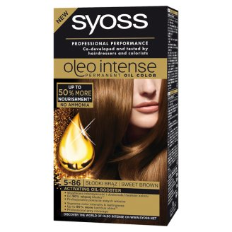 Syoss Oleo Intense Hair Colorant Sweet Brown 5-86