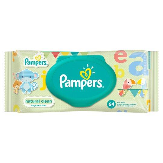 Pampers Natural Clean 64 Chusteczki Dla Niemowląt