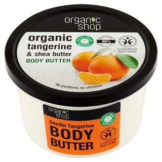 Organic Shop Tangerine Body Butter 250 ml