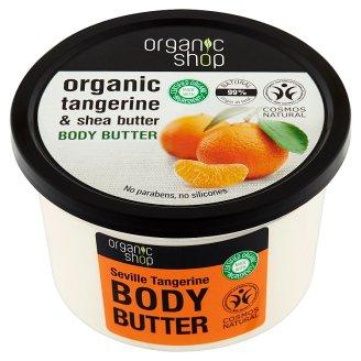 Organic Shop Masło do ciała gorzka mandarynka 250 ml