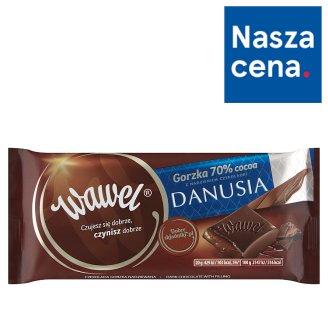 Wawel 70% Cocoa Dark Chocolate with Danusia Chocolate Filling 100 g