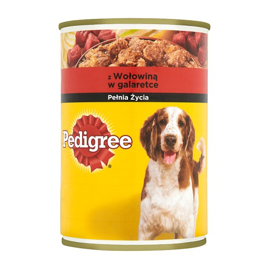 Pedigree Complete Food for Adult Dogs with Beef in Jelly 400 g
