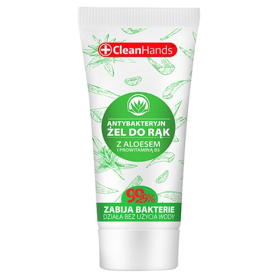 CleanHands Refreshing Hand Gel with Aloe Vera and Provitamin B5 30 ml