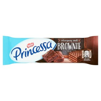 Princessa Cocoa Wafer Filled with Brownie Flavoured Cream 37 g