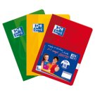 Oxford A5 Notebook 60 Squared Pages 3 Pieces