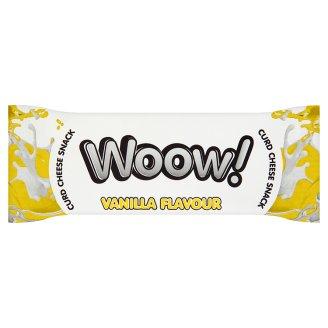 Woow! Batonik z sera twarogowego o smaku waniliowym w polewie kakaowej 35 g