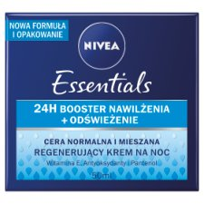 image 1 of NIVEA Essentials Normal and Mixed Skin Regenerating Night Cream 50 ml