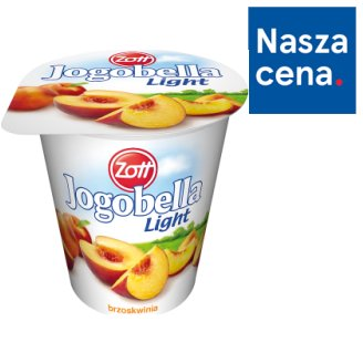 Zott Jogobella Light brzoskwinia Jogurt 150 g