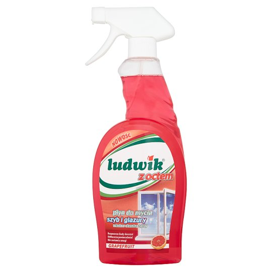 Ludwik with Vinegar Grapefruit Window Cleaning Spray 750 ml