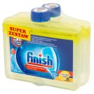 Finish 5x Power Actions Lemon Czyścik do zmywarki 2 x 250 ml