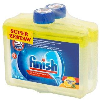 Finish 5x Power Actions Lemon Czyścik do zmywarki 2 x 250 ml