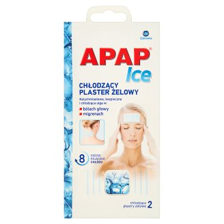 Apap Ice Cooling Gel Plaster 2 Pieces