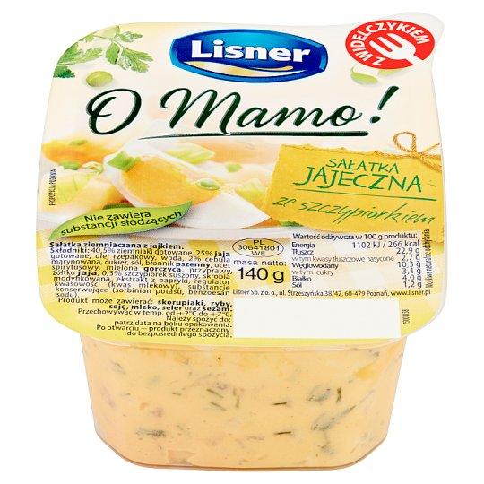 Lisner O Mamo! Egg Salad with Chives 140 g
