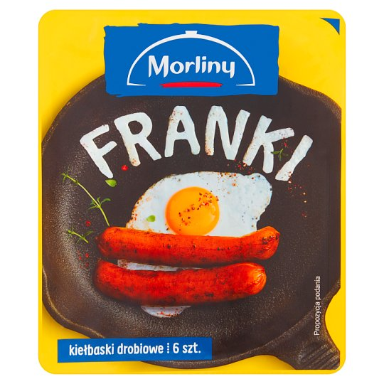 Morliny Franki Poultry Sausages 240 g (6 Pieces)