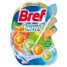 Bref WC Perfume Switch Zawieszka myjąco-zapachowa do muszli WC brzoskwinia-czerwone jabłko 50 g