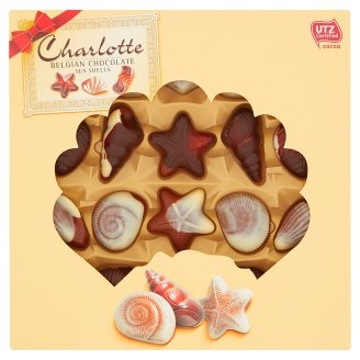 Charlotte Chocolate Sea Shells 250 g