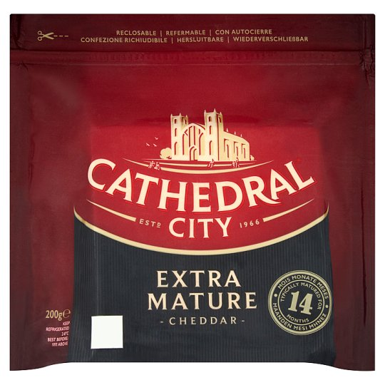 Cathedral City Extra Mature Cheddar Cheese 200 g