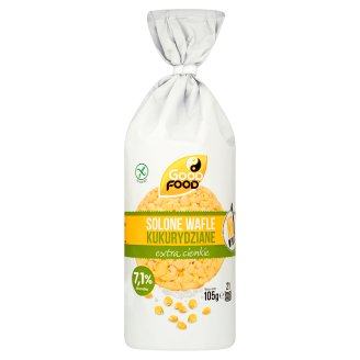 Good Food Salted Extra Thin Corn Cakes 105 g (21 Pieces)
