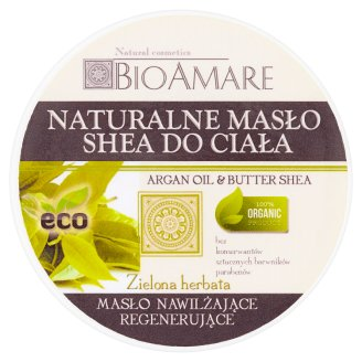 Bioamare Zielona herbata Naturalne masło shea do ciała 200 ml