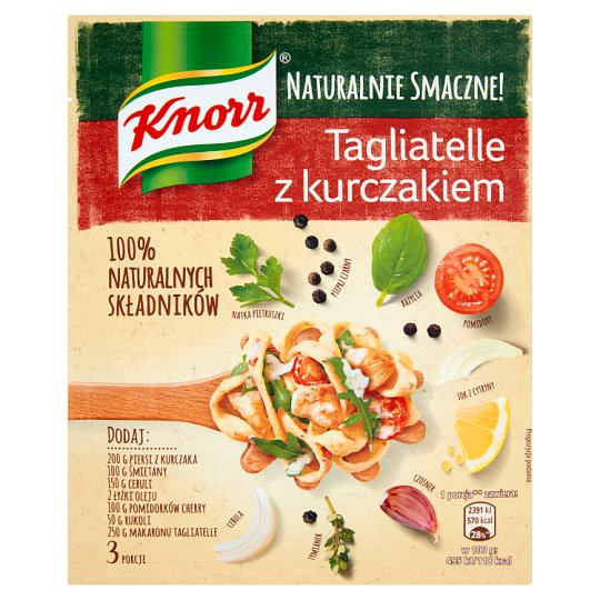 Knorr Tagliatelle with Chicken 39 g
