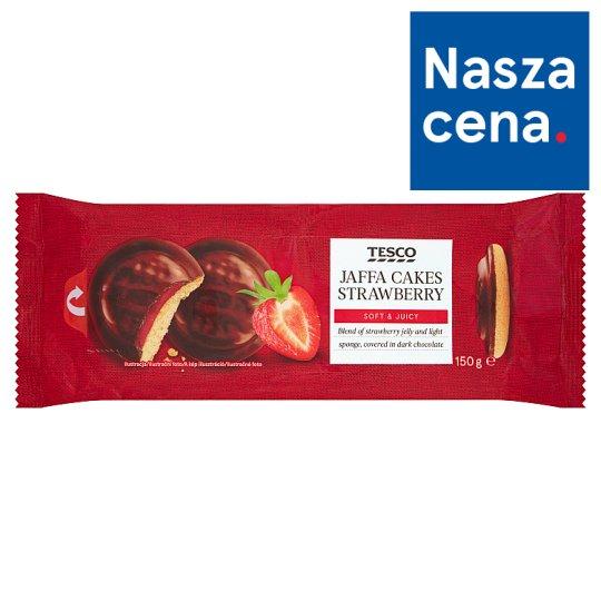 Tesco Jaffa Cakes Strawberry with Chocolate 150 g