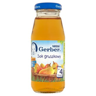 Gerber Mój pierwszy 100% sok Pear Juice after 4 Months Onwards 175 ml